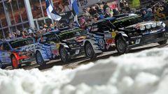 Volkswagen Polo WRC 2016 al Rally di Svezia
