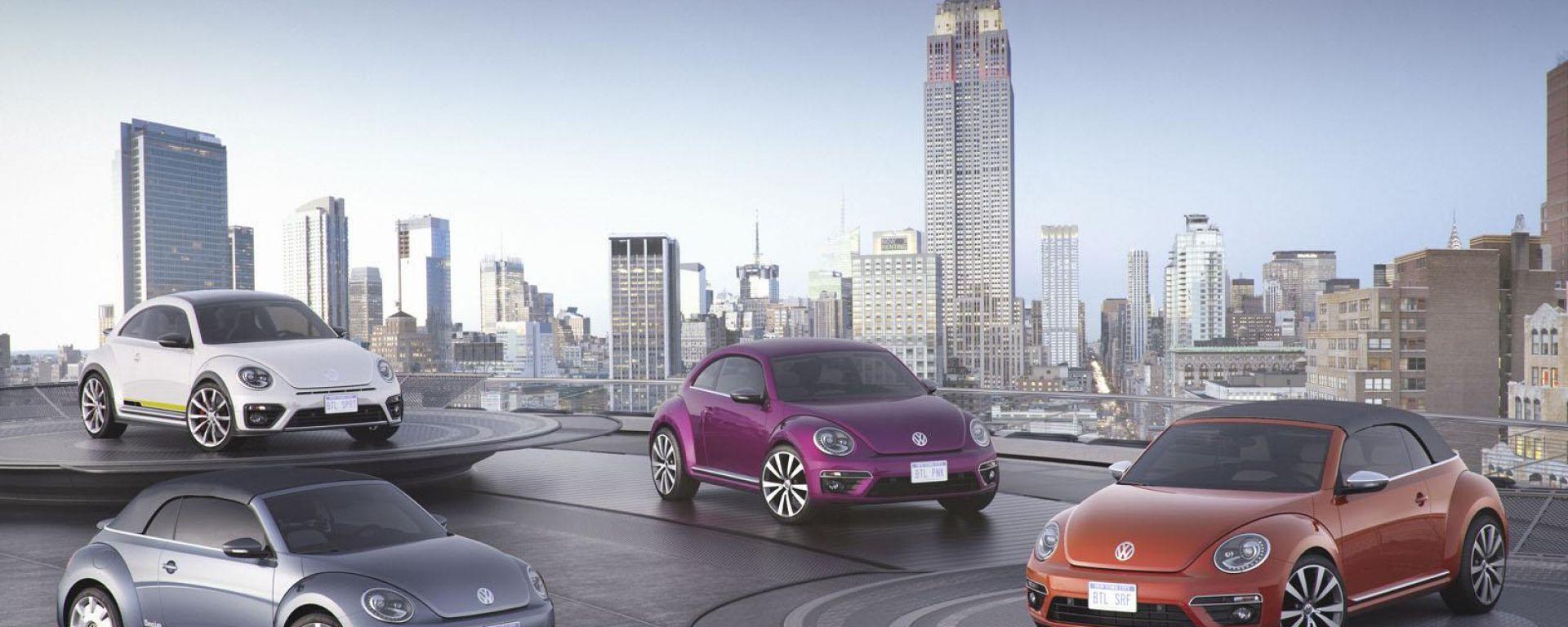 Volkswagen: quattro Beetle speciali per NY