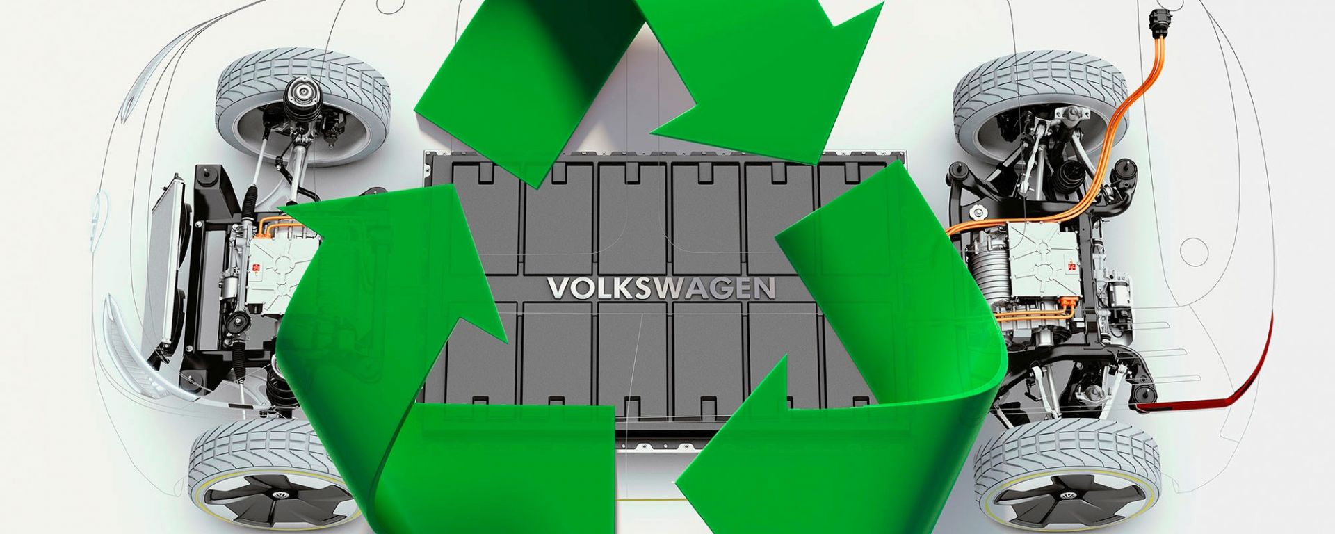 Volkswagen scommette sul riciclo delle batterie al litio
