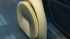 Volkswagen Sedric: dettaglio del meccanismo di sterzatura delle ruote