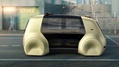 Volkswagen Sedric: le batterie sono sotto il pavimento