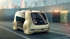 Volkswagen Sedric: negli sbalzi ci sono la piattaforma per la guida autonoma e il climatizzatore