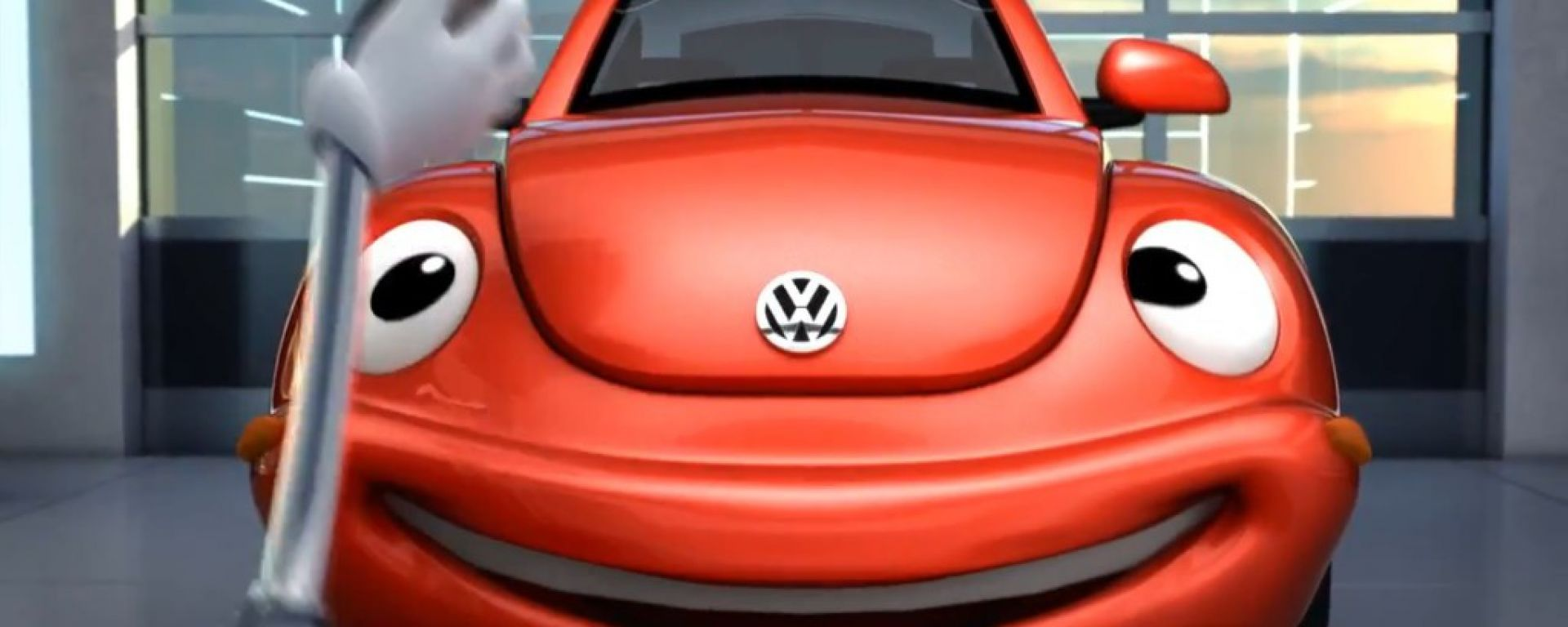 Volkswagen Service: lo spot cartoon