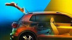 Volkswagen T-Cross 2018: teaser e foto spia del Suv - Immagine: 11