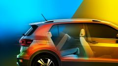 Volkswagen T-Cross 2018: teaser e foto spia del Suv - Immagine: 10