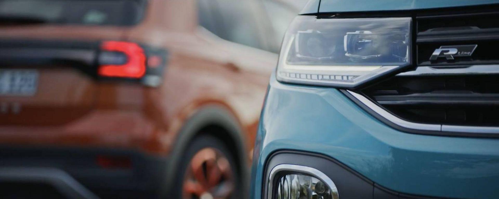 Volkswagen T-Cross: nuovi dettagli di interni e esterni