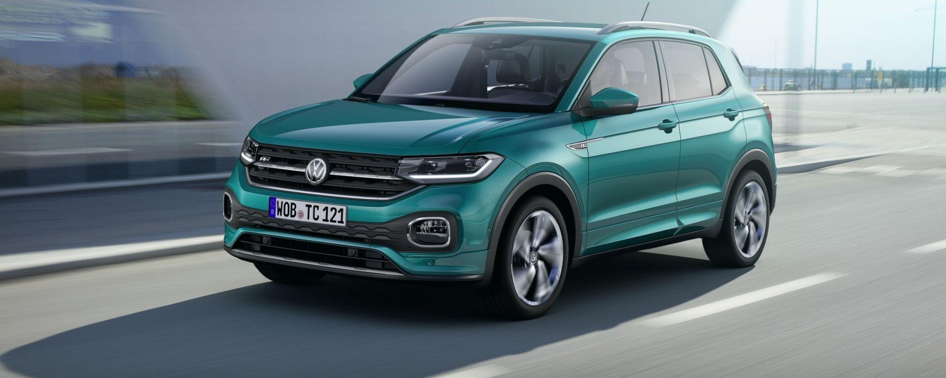 Volkswagen T Cross 2018 Prova Dotazioni Prezzi Foto