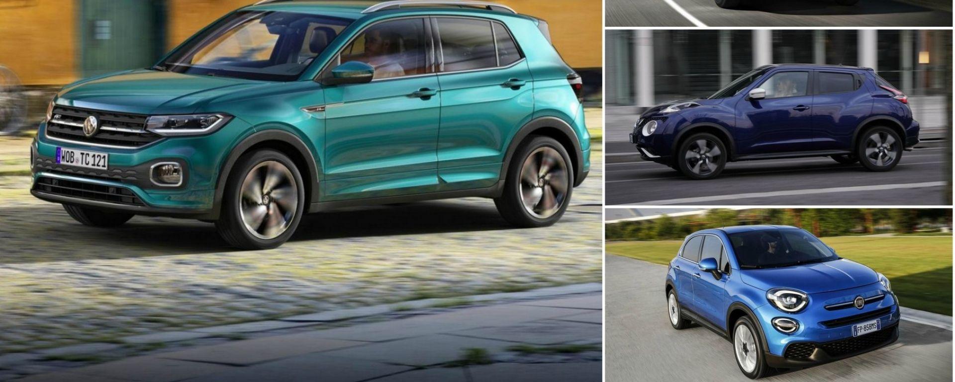 Volkswagen T-Cross, attacco al potete