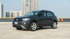 Volkswagen T-Cross: dettaglio anteriore