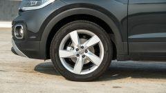 Volkswagen T-Cross: dettaglio dei cerchi da 17 pollici