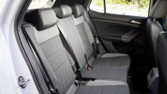Volkswagen T-Cross: dettaglio divanetto posteriore
