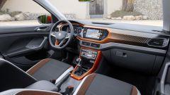 Volkswagen T-Cross: gli interni