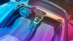 Volkswagen T-Cross: il bozzetto degli interni