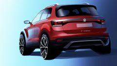 Volkswagen T-Cross, il bozzetto