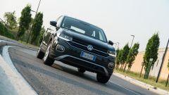 Volkswagen T-Cross: il frontale