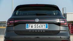 Volkswagen T-Cross: il retrotreno