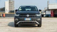 Volkswagen T-Cross: in dettaglio il frontale