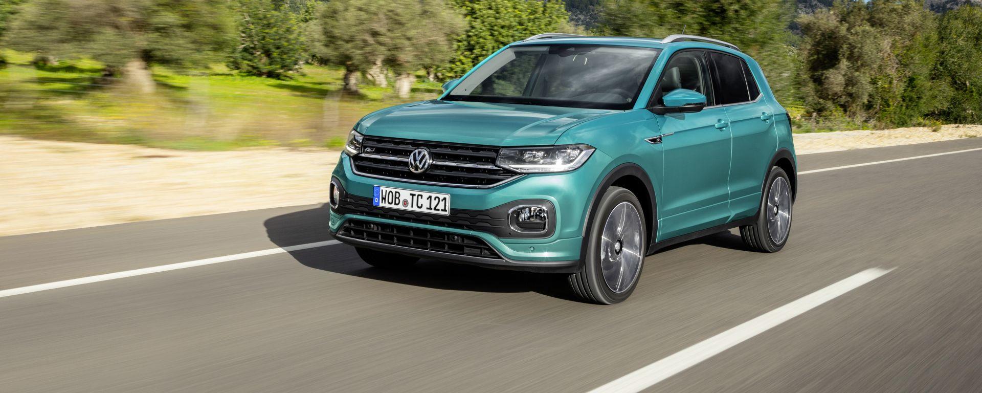 Volkswagen T-Cross: alla prova il 1.0 TSI benzina da 95 CV