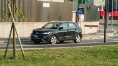 Volkswagen T-Cross: vista 3/4 anteriore