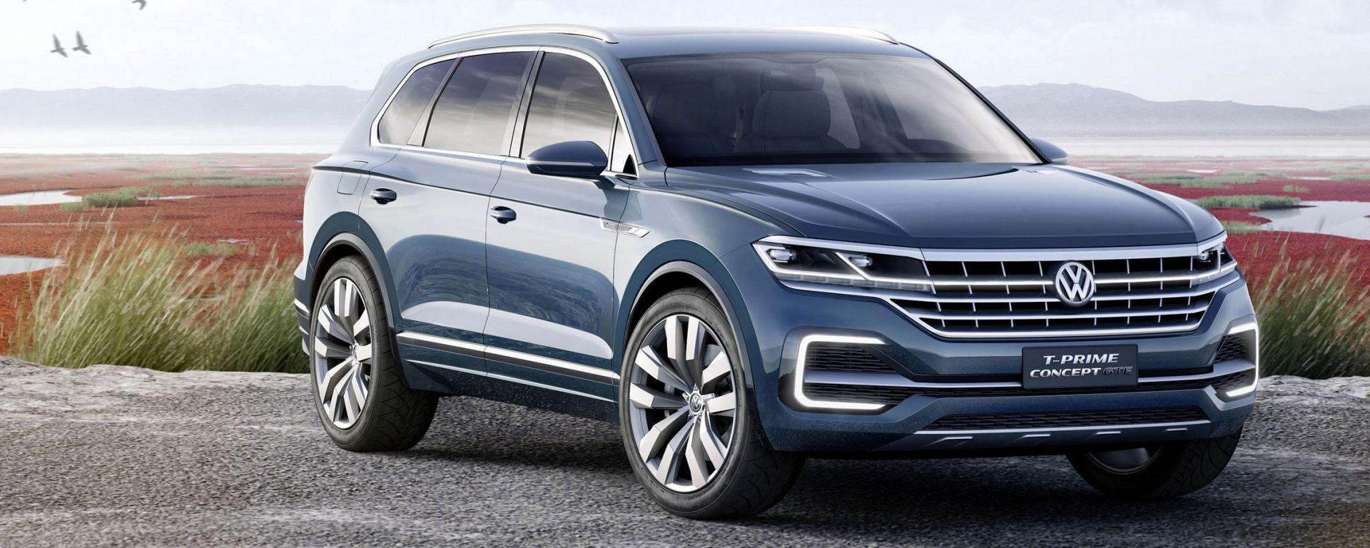 Volkswagen T-Prime Concept GTE: la Suv premiun del futuro