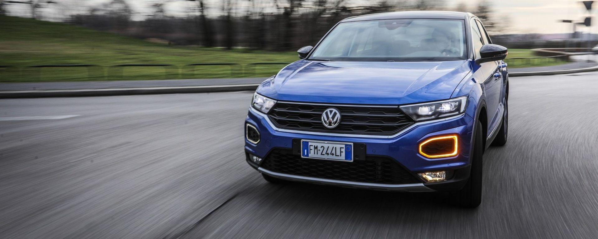 Volkswagen T-Roc 1.0 TSI, la prova
