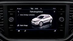 Volkswagen T-Roc 1.6 TDI SCR: il display da 8 pollici dell'infotainment