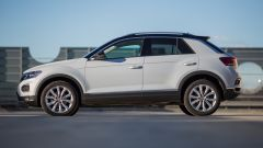 Volkswagen T-Roc 1.6 TDI: vista laterale