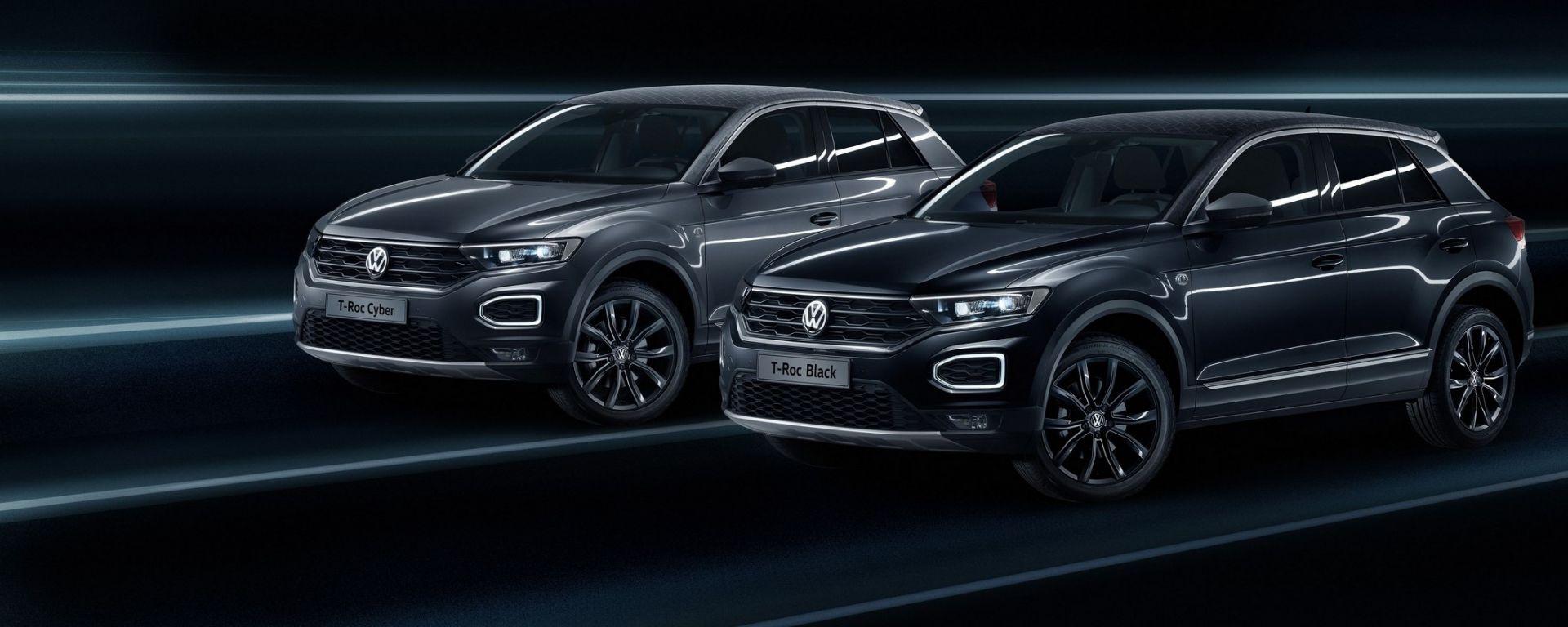 Vw T Roc >> Volkswagen T-Roc Black e Cyber Garage Italia Customs: il ...