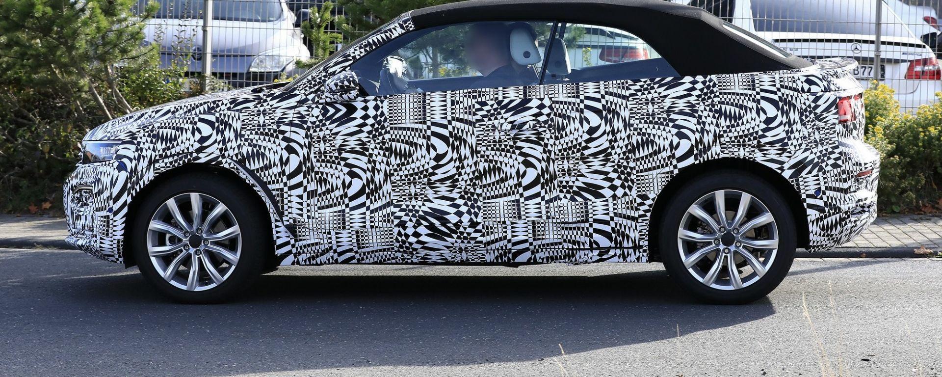 Volkswagen T-Roc Cabrio, prime foto spia
