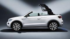 Volkswagen T-Roc Cabrio, tetto in tessuto