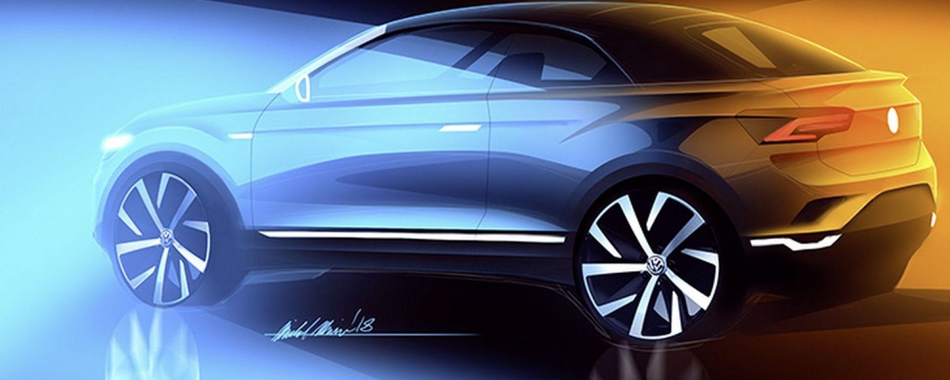 Volkswagen T-Roc Cabriolet, in arrivo nel 2020