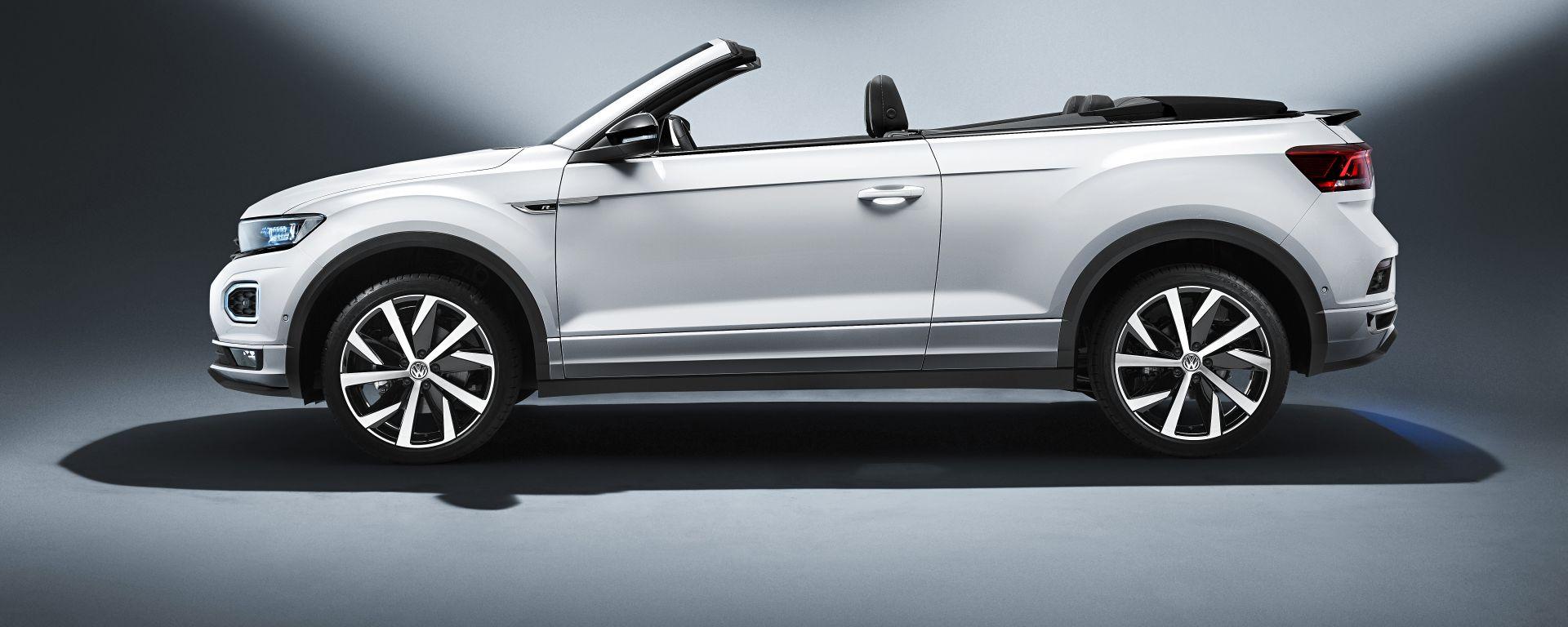 Volkswagen T-Roc Cabriolet Sport: vista laterale