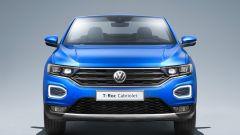 Volkswagen T-Roc Cabriolet Style: vista frontale, tetto aperto