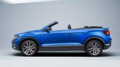 Volkswagen T-Roc Cabriolet Style: vista laterale, tetto aperto