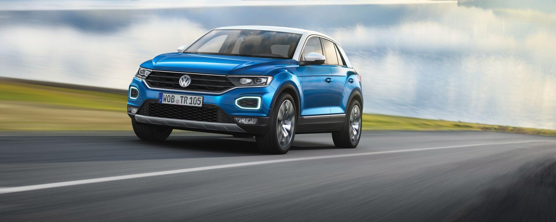 Volkswagen T-Roc: la 1.0 TSI Style è la più cercata sul web