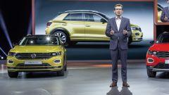 Volkswagen T-Roc R-Line al salone di Francoforte 2017