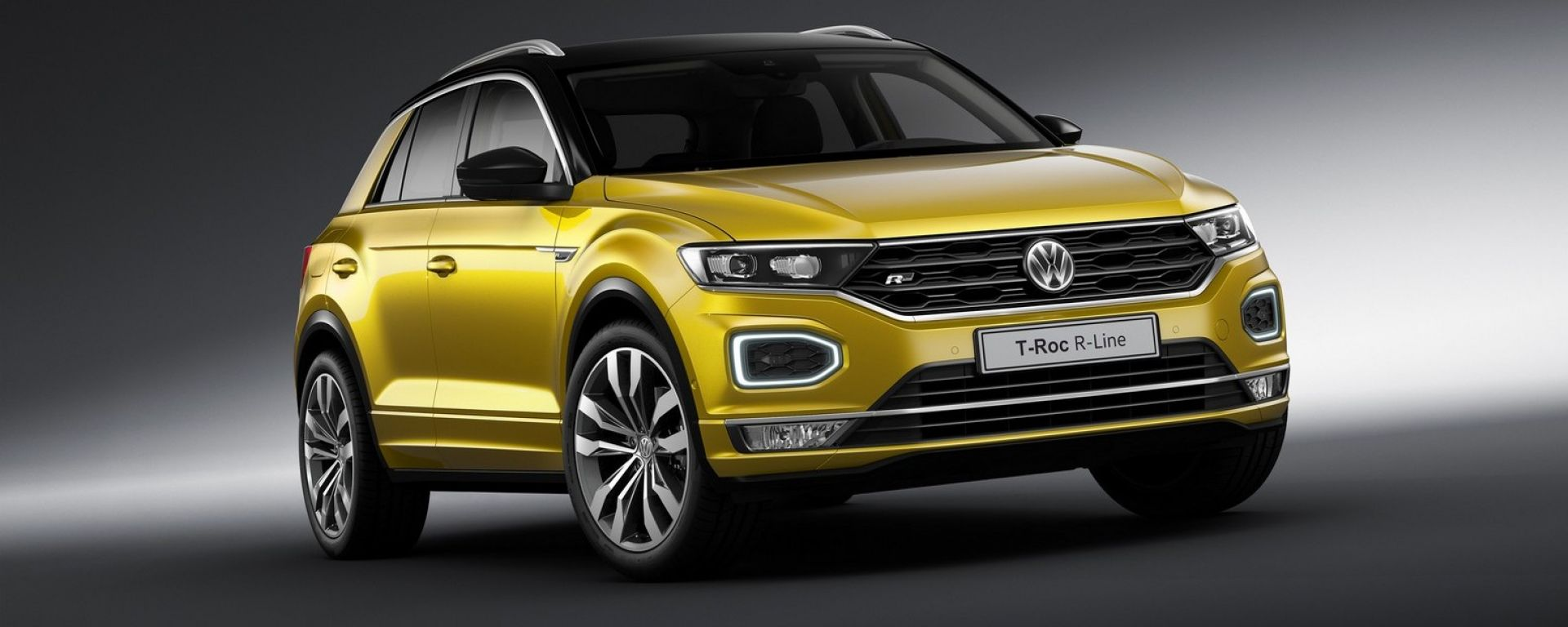 volkswagen t roc r line uscita prezzo caratteristiche motori motorbox. Black Bedroom Furniture Sets. Home Design Ideas