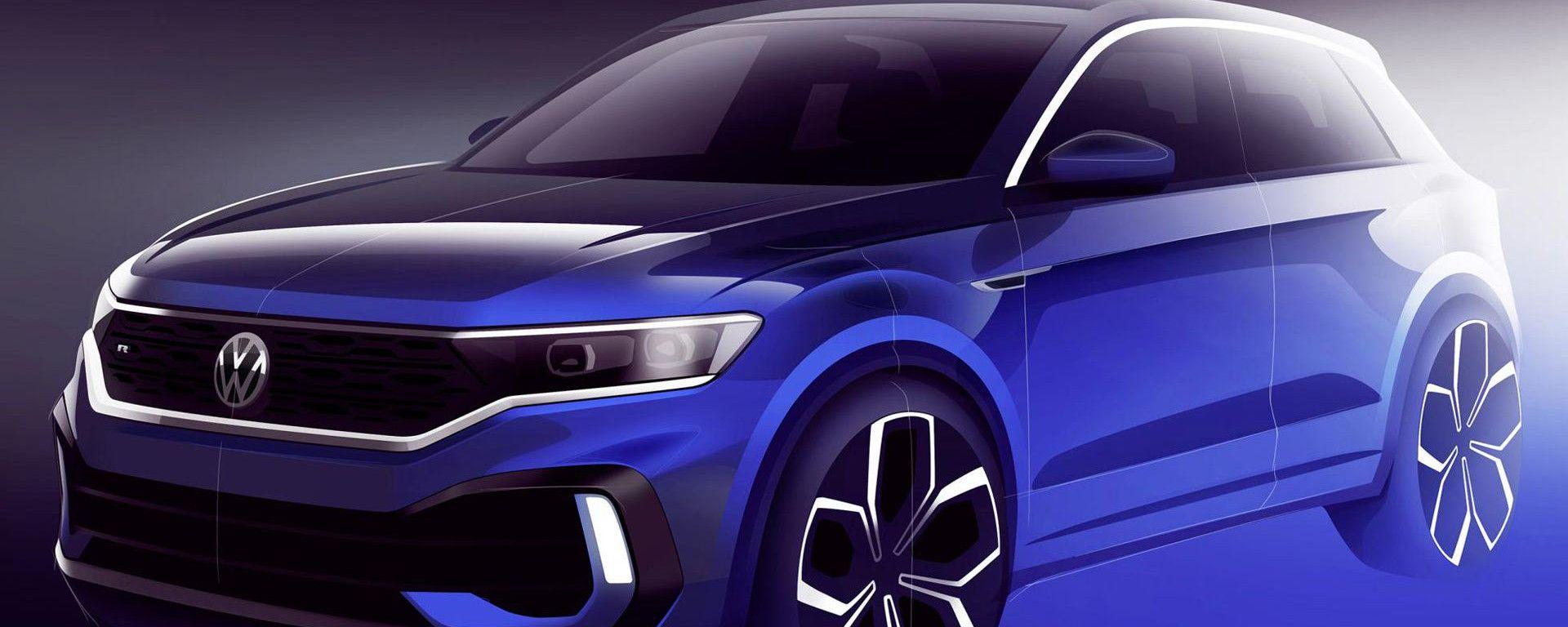 Volkswagen T-Roc R: a Ginevra la concept (quasi di serie)