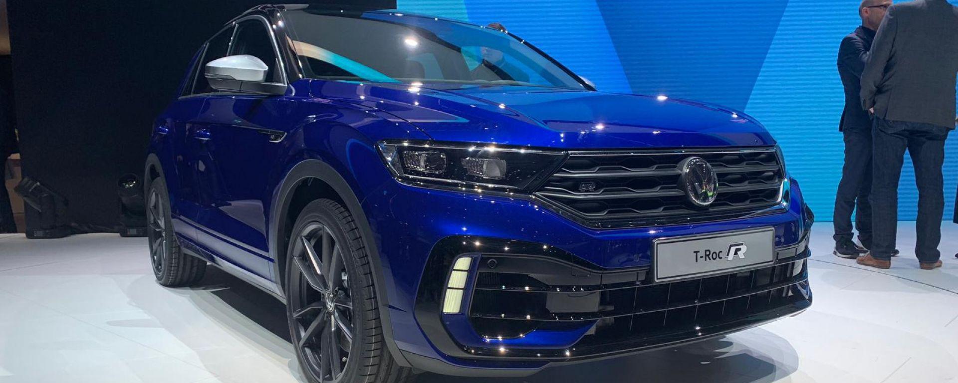Volkswagen T-Roc R: a Ginevra il Suv sportivo da 300 CV