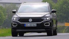 Volkswagen T-Roc R, paparazzata in Germania durante i collaudi