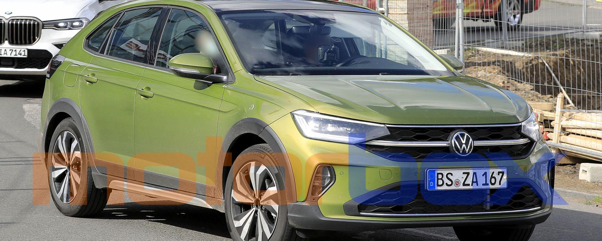 Volkswagen Taigo 2021: le prime foto dell'esemplare per l'Europa