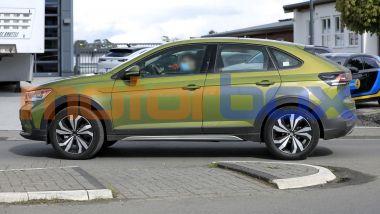 Volkswagen Taigo 2021: visuale laterale