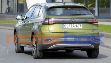 Volkswagen Taigo 2021: visuale posteriore