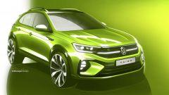 Volkswagen Taigo 2021, lo sport coupé derivato da T-Cross