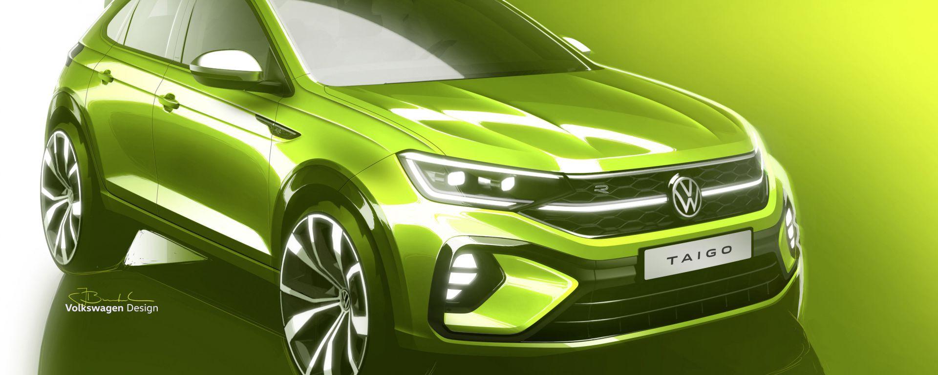 Volkswagen Taigo, il nuovo SUV coupé