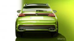 Volkswagen Taigo, visuale posteriore