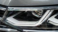 Volkswagen Tiguan 1.5 TSI R-Line: dettaglio luci anteriori