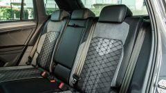 Volkswagen Tiguan 1.5 TSI R-Line: divanetto posteriore