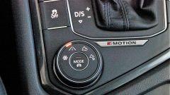 Volkswagen Tiguan 2.0 Tdi 150 CV DSG 4Motion: il selettore per le regolazioni del 4x4