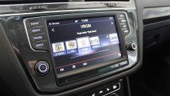 Volkswagen Tiguan 2.0 Tdi 150 CV DSG 4Motion: l'impianto di infotainment